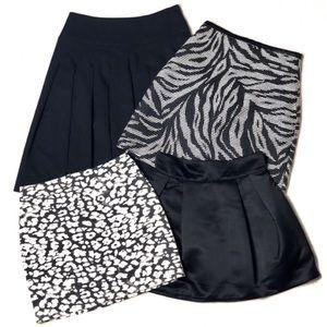 Bundle of 4 H&M Skirt